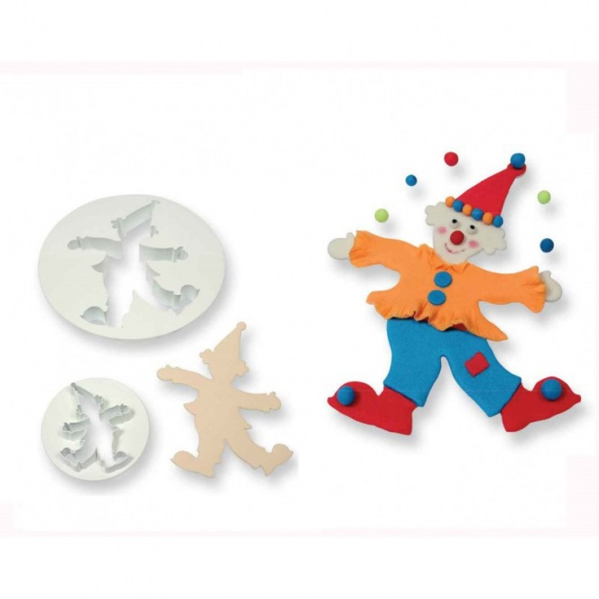 Clown cutter - set of 2pc - PME