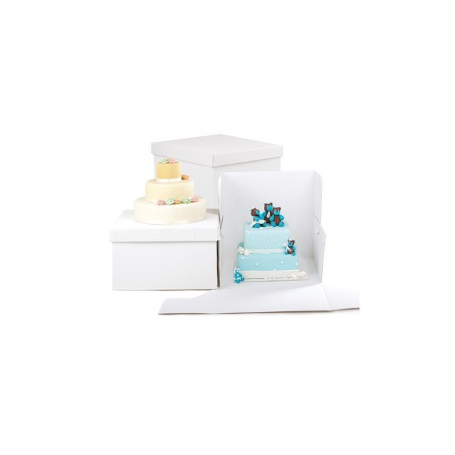 PME Cake Box & Square Cake Board 30 x 30 x 15cm