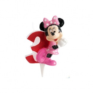 Minnie Candle - 3 years