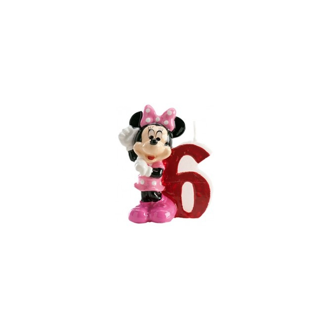 Minnie Candle - 6 years