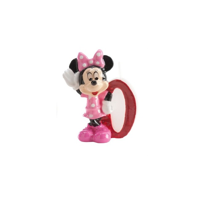 Minnie Candle - Number 0
