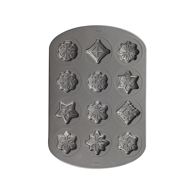 Snowflake Cookie Pan - Wilton