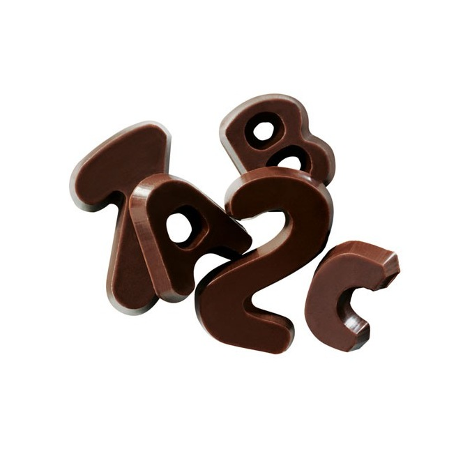 Chocolate Alphabet - Callebaut