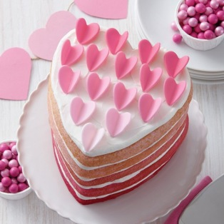 Wilton Heart Cake Pan Easy Layers - Set/5
