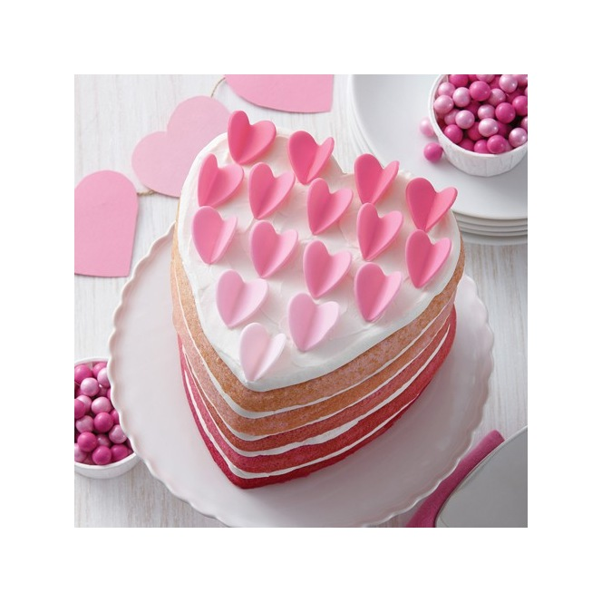 Wilton Heart Cake Pan Easy Layers - Set/5