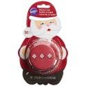 Caissettes à cupcake - Père Noël - 50 pces - Wilton