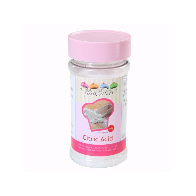 Acide citrique- 80g- Funcakes