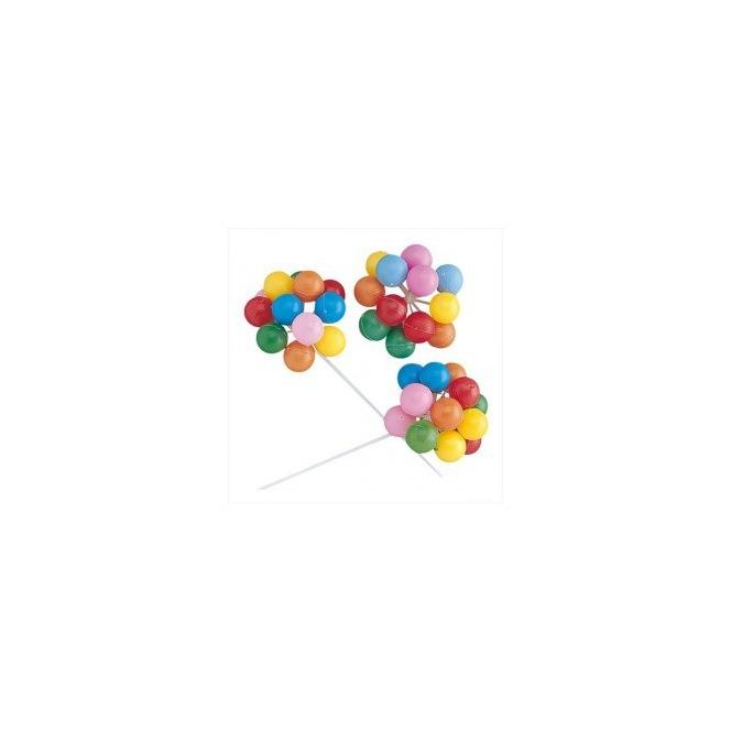 Ensemble de petits ballons coloré