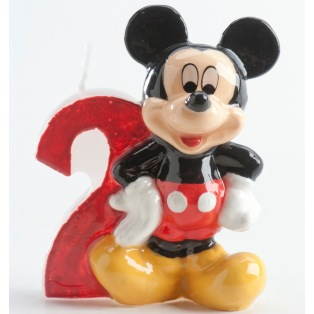 Mickey Mousse Candle - 2 years