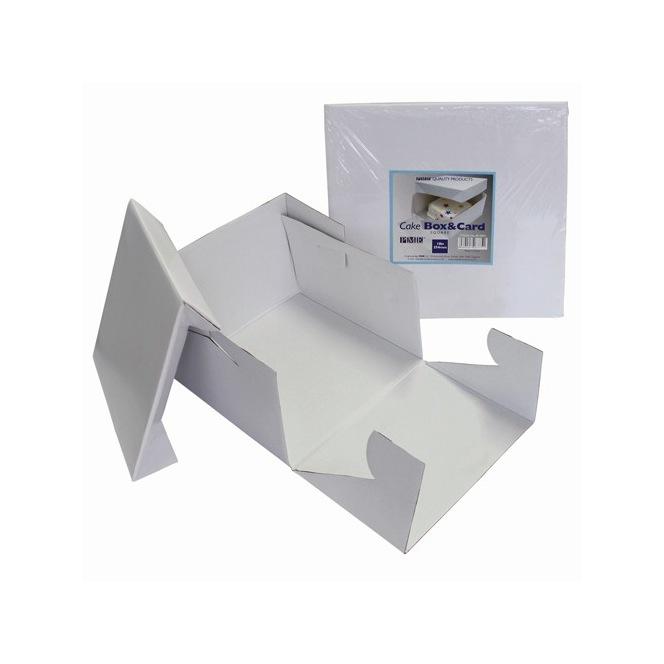 PME Cake Box & Square Cake Board 22,5x22,5x15cm