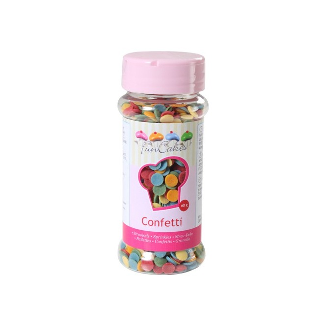 Confetti Mix 60g FunCakes