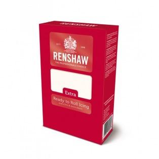 Rolled Fondant - White - 1kg - Renshaw