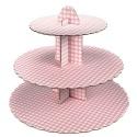 Culpitt 3 Tier Pink Cupcake Stand