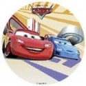 Wafer disc - 22 cm - Cars - Flags