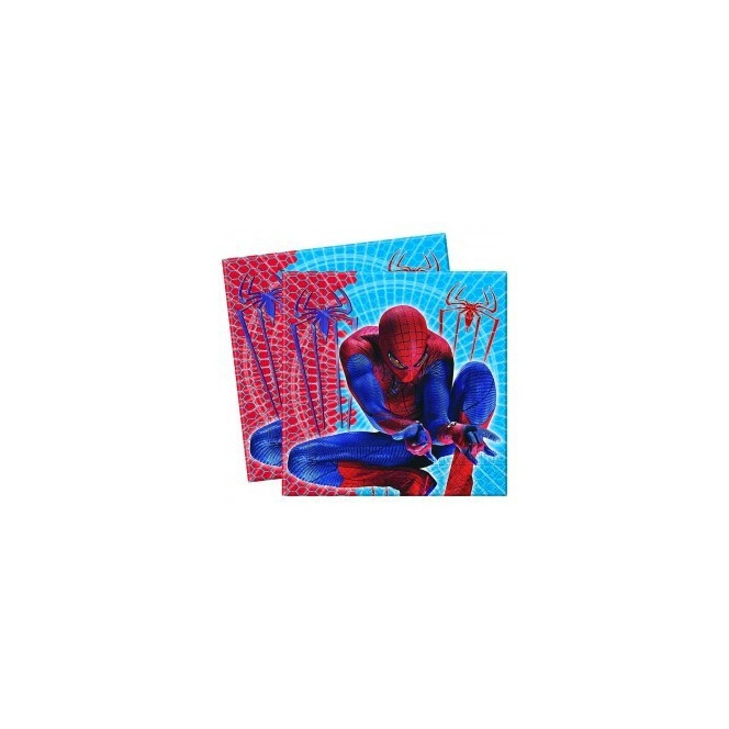 20 Napkins - Spiderman