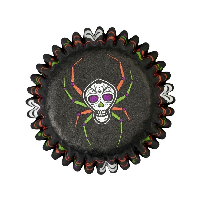 Mini Baking Cups Trick or Treat- Wilton - pk/100