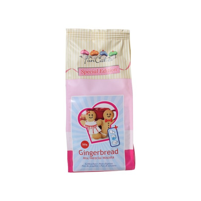FunCakes Mix for Gingerbread 500g