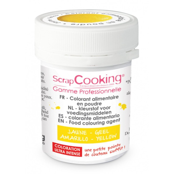 Colorant Alimentaire - Jaune - Scrapcooking
