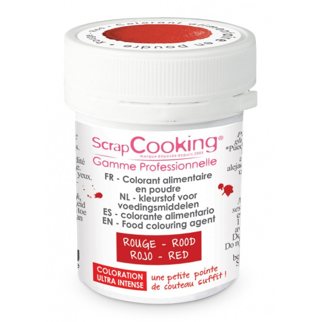 Coloring Powder Red Scrapcooking 5g