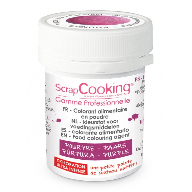 Coloring Powder Purple Pink Scrapcooking 5g