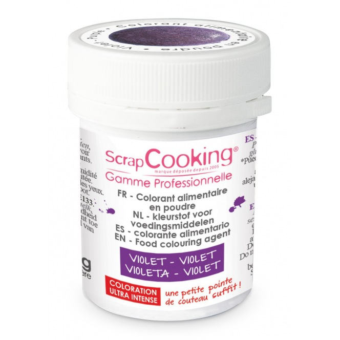 Coloring Powder Purple Scrapcooking 5g