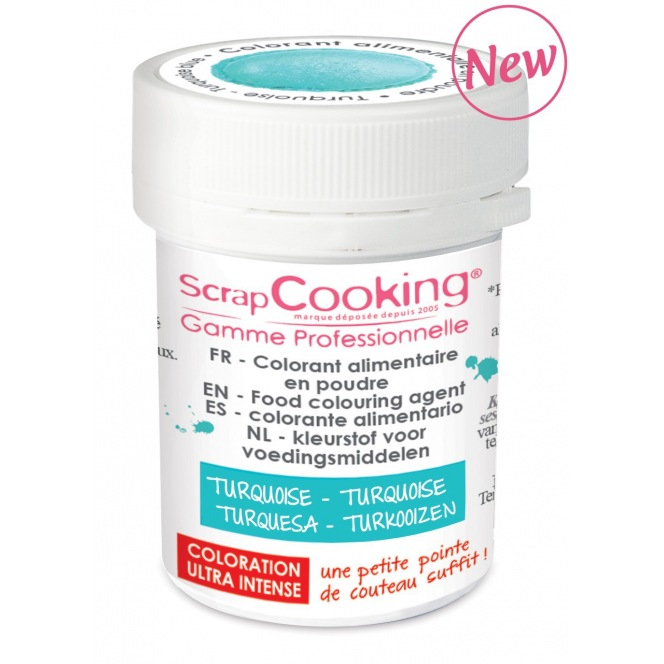 Coloring Powder Turquoise Scrapcooking 5g