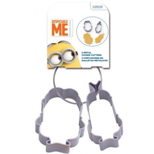 Stor Metal Cookie Cutters Minions set/2