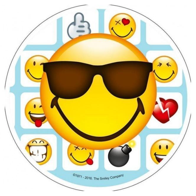 Disque Azyme Smiley -  Le beau