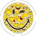 Wafer Disc Smiley - Crazy