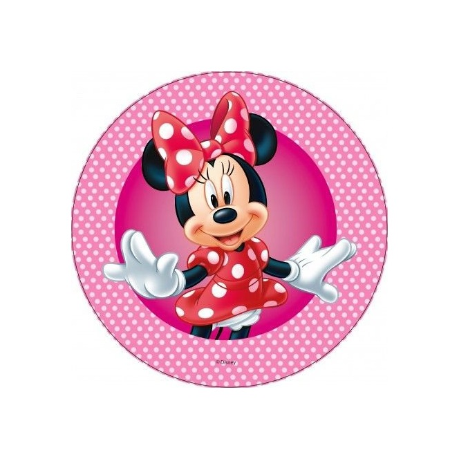 Wafer decorations with sugar- Minnie - 20cm