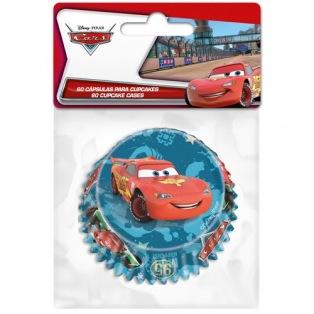 60 Caissettes à cupcakes Cars