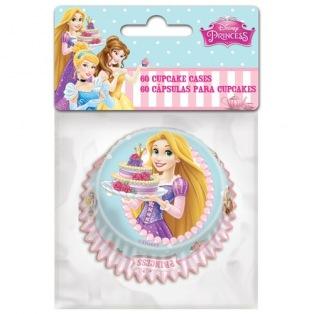 60 caissettes à cupcakes Princesses Disney