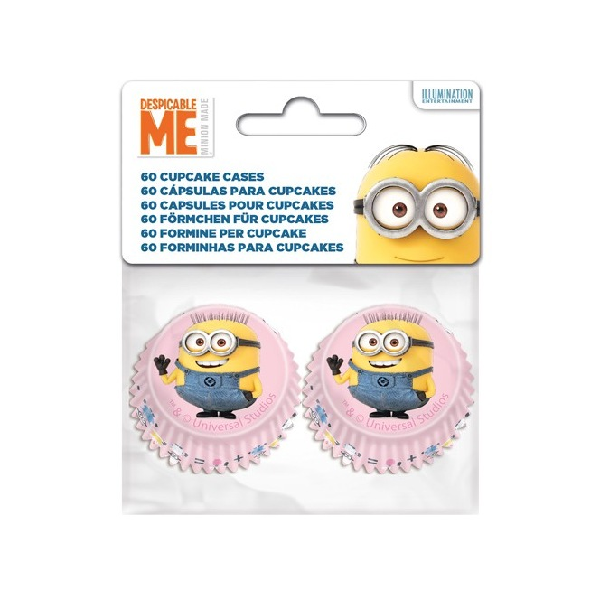 Stor Mini Baking Cups Minions pk/60