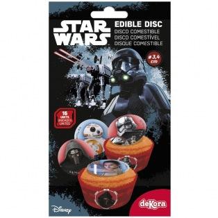 Edible disc for Frozen cupcakes