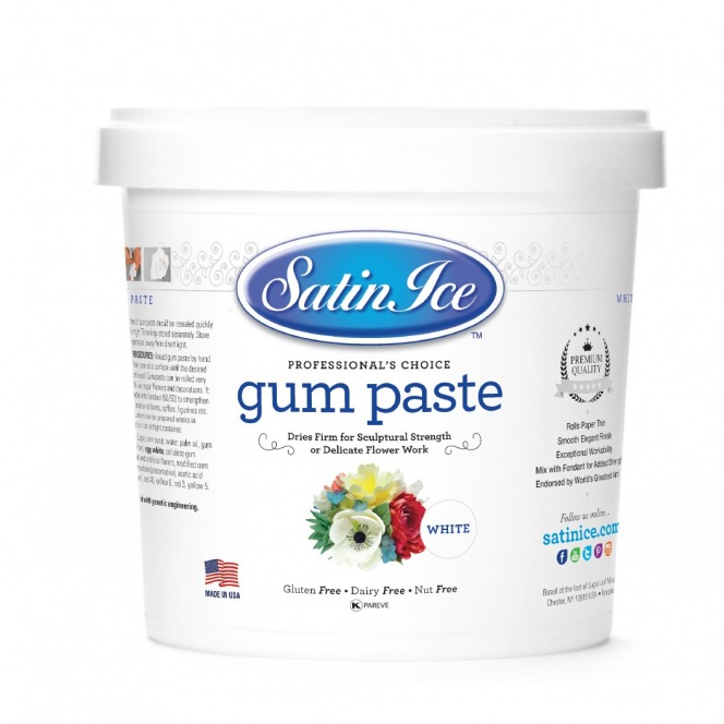 Gum Paste - 1kg - Satin Ice