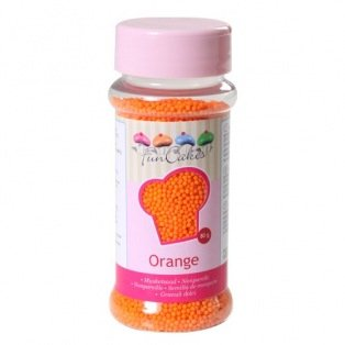 FunCakes Nonpareils - Orange - 80g
