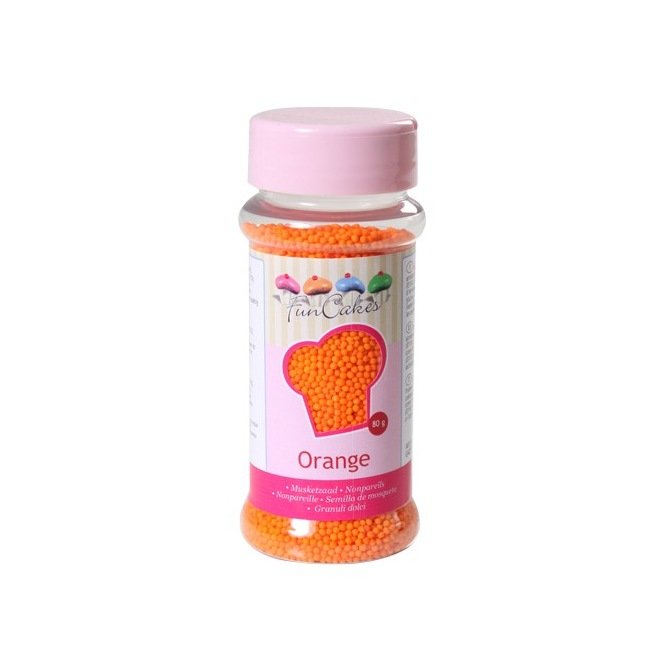 FunCakes Nonpareils Orange 80g