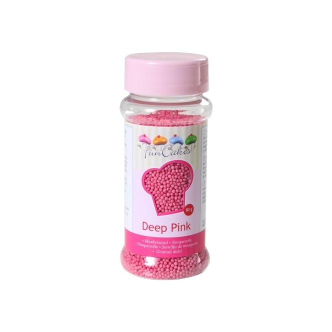 FunCakes Nonpareils Dark Pink 80g