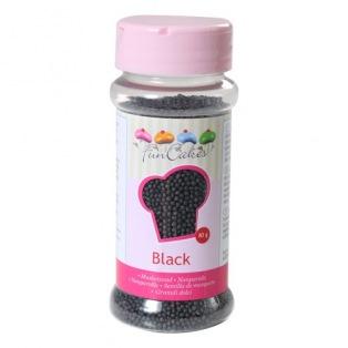 FunCakes Nonpareils - Black - 80g