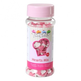 Little edible sweet hearts - Funcakes - 60g