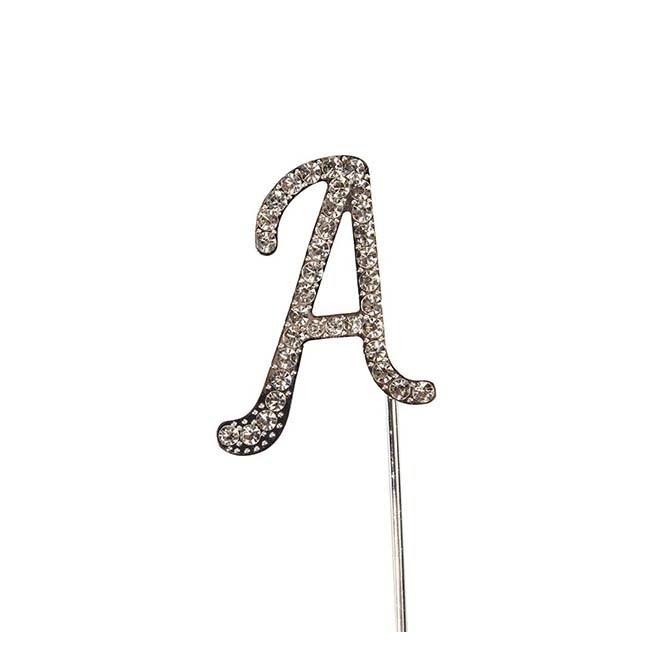 Diamante Alphabet Pick - A