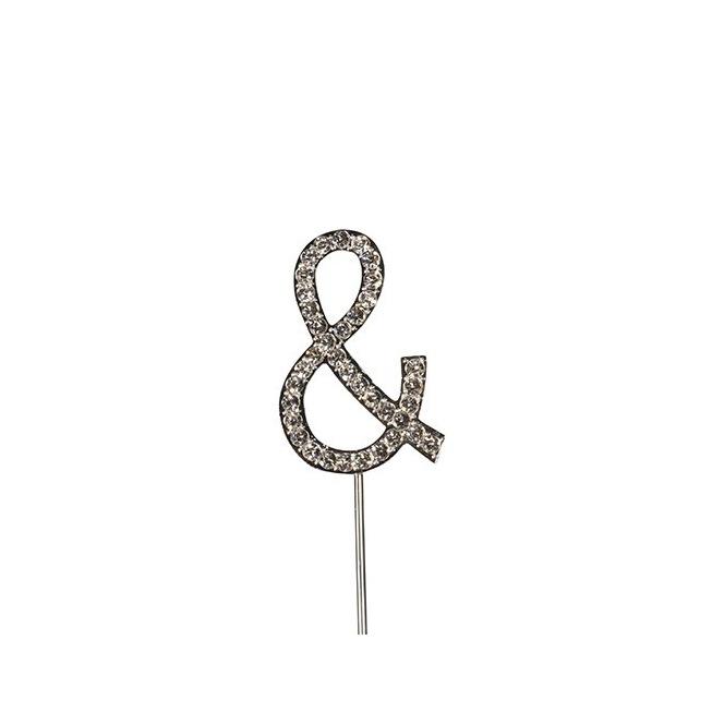 Diamante Symbol Pick - &