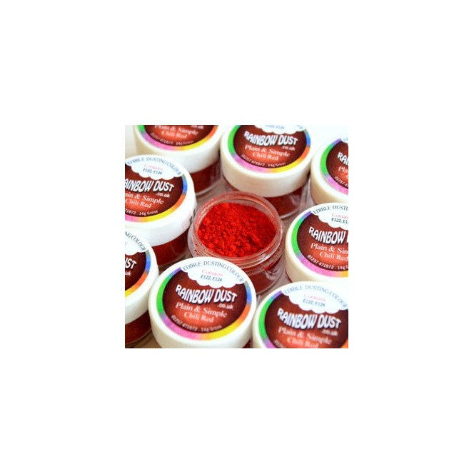 Coloring Powder Red Chili Rainbow Dust 2g