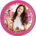 8 paper plates - Soy Luna