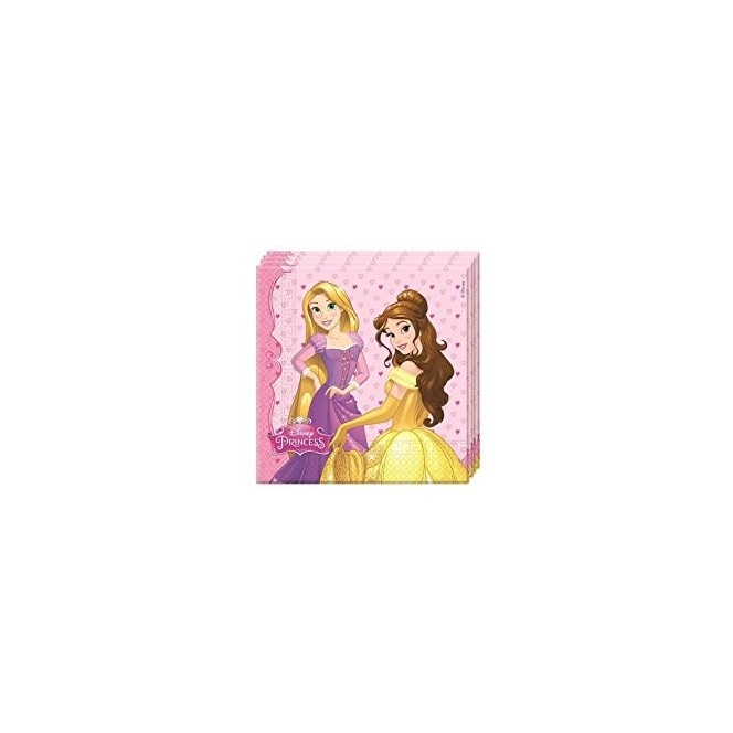 20 Napkins - Disney Princesses
