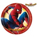 8 paper plates - Spiderman Homecoming
