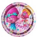 8 paper plates - Trolls