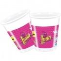 8 Plastic Cups - Soy Luna