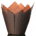 Culpitt Tulip Baking Cups Brown pk/50