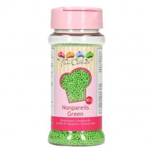 FunCakes Nonpareils - Green - 80g